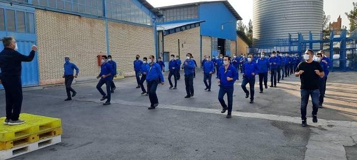 هفته دوازدم پویش دوشنبه های ورزش و کار در استان اصفهان