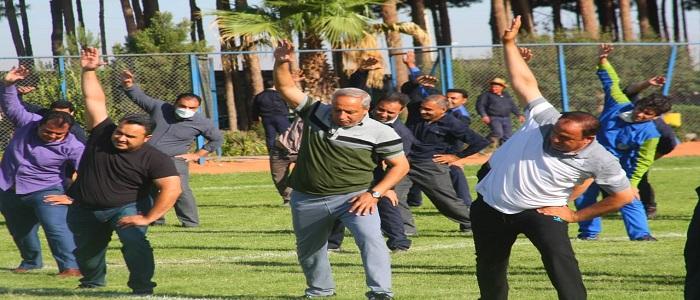 پویش ملی دوشنبه های ورزشی