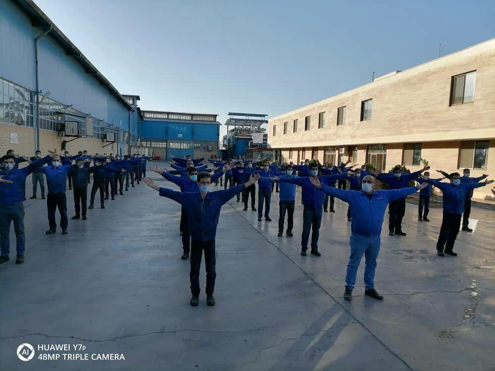 گیتی پسند میزبان هفته پانزدهم پویش ملی دوشنبه های ورزش و کار در استان اصفهان