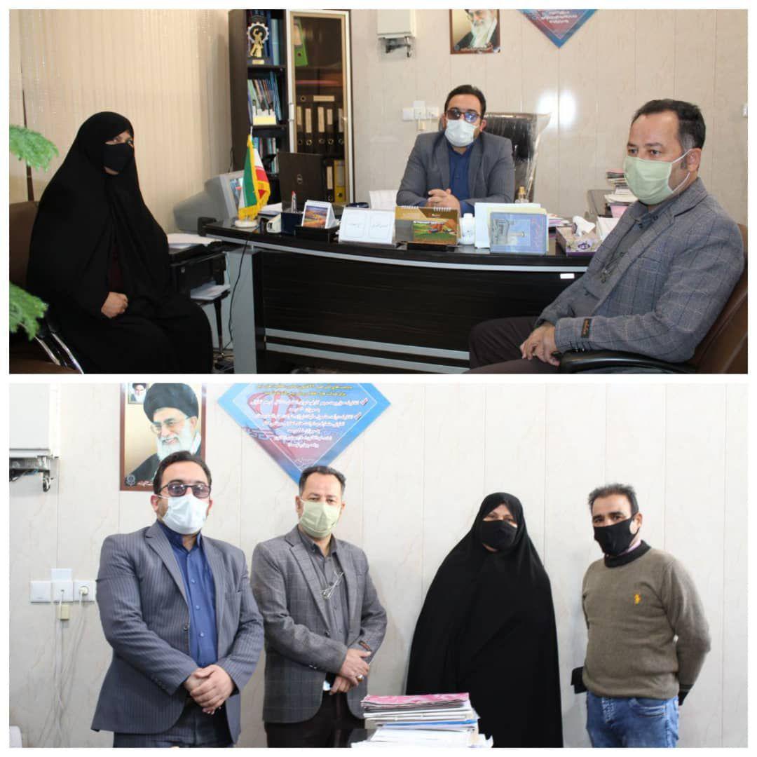 در ادامه معارفه مسئولان رزمی کارگران شهرستانهای استان اصفهان