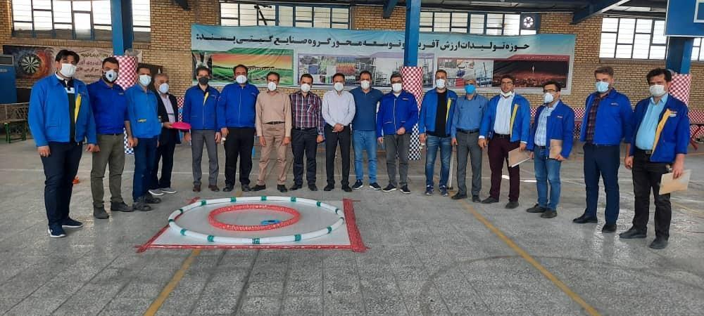 مسابقات ورزشی مدیران صنایع گیتی پسند اصفهان برگزار شد