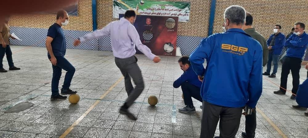 هفته سوم مسابقات ورزشی مدیران کارخانجات گیتی پسند برگزار شد