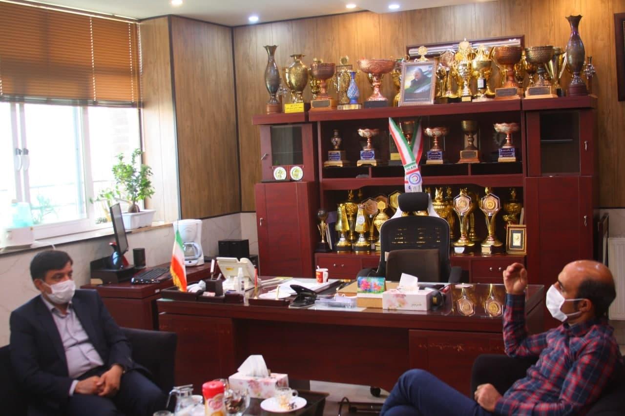 در ادامه دیدارهای رئیس محترم اداره امور ورزش کارگران استان اصفهان در سال جدید