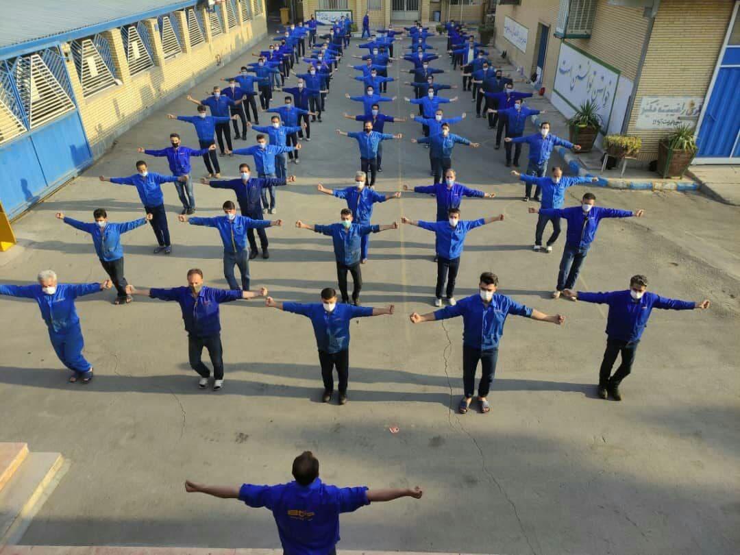 سی و هفتمین هفته از پویش ملی دوشنبه های ورزش و کار در استان اصفهان برگزار شد