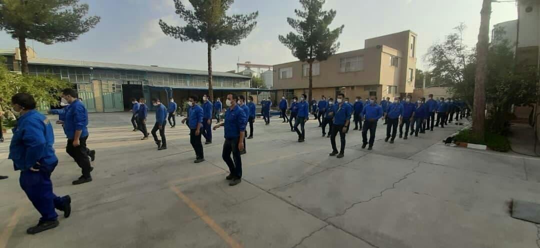 چهل و دومین  هفته از پویش ملی دوشنبه های ورزش و کار در استان اصفهان برگزار شد
