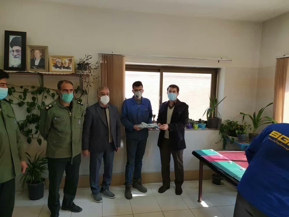 به مناسبت گرامیداشت اولین سالگرد شهادت سردار سلیمانی در استان اصفهان