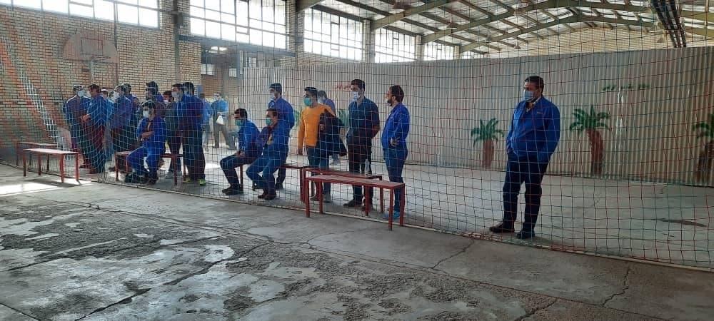 در ادامه مسابقات ورزشی کارکنان گیتی پسند اصفهان